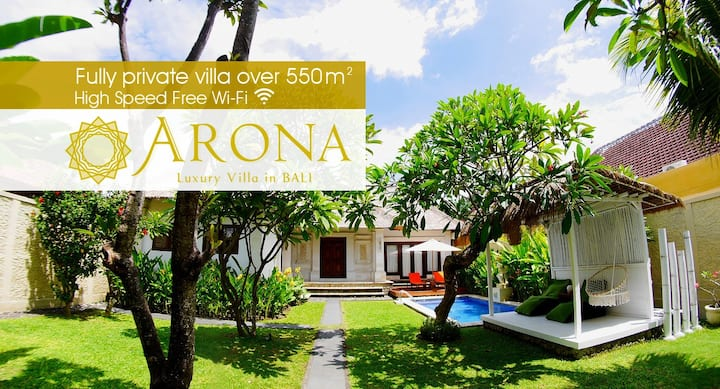 ■New Open! 550㎡■Luxury Villa with a Private Pool.