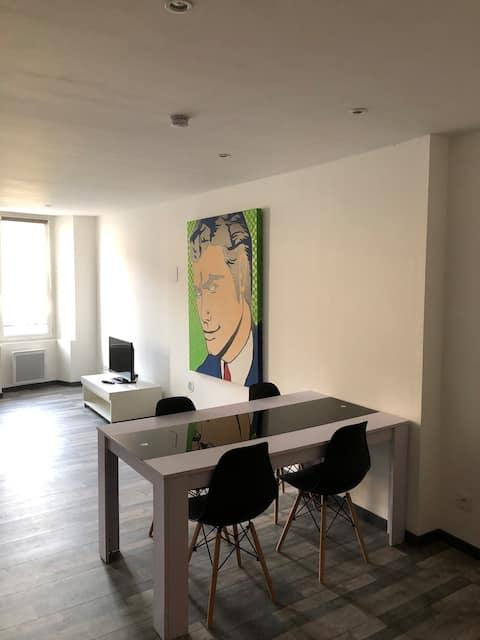 Appartement centre ville Villecroze