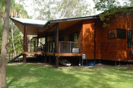 Tropical Rain Forest Style Lodge in Hervey Bay - Dundowran Beach