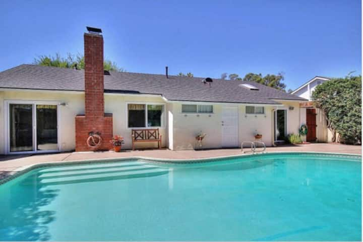 Large4BR,2BA,pool,spa,beaches,sleep 11,UCSB,Bacara