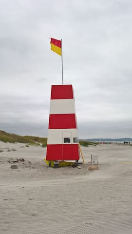 Hygge, natur vedskøn badestrand - Højby - Chalet