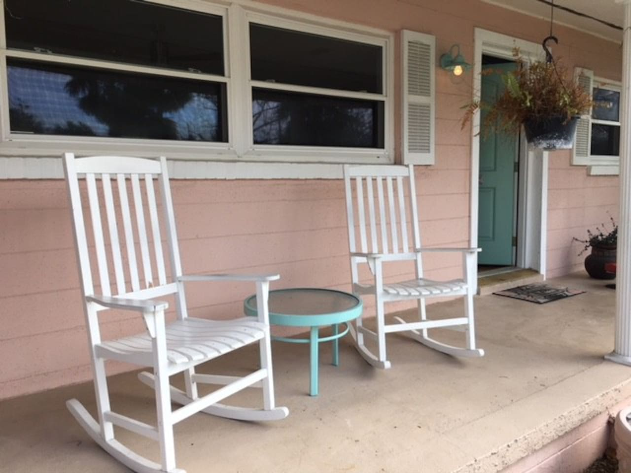 Front Porch of the coastal cottage!