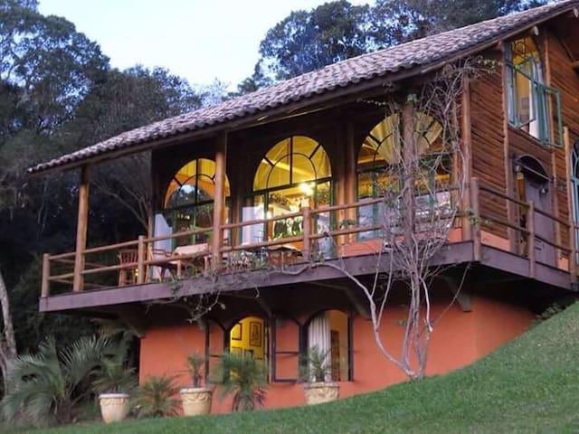 Atlantic Forest Refuge - Santa Catarina - Mökki
