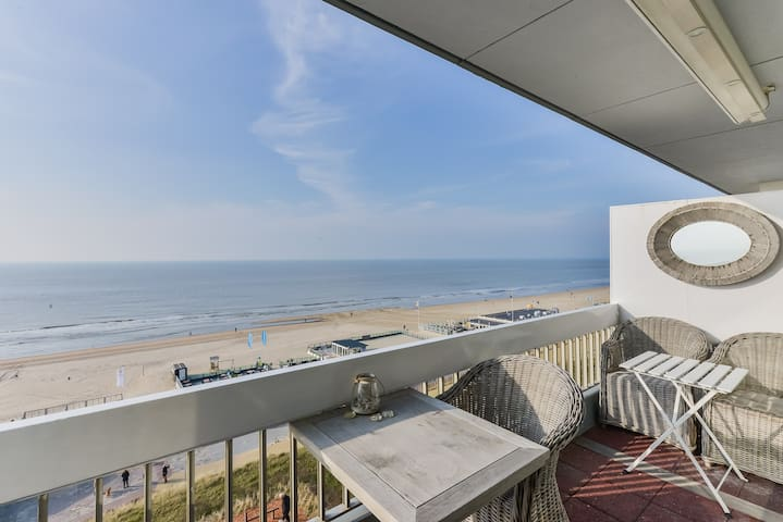 Incredible Seaview Apartment (2p) - Zandvoort - Byt