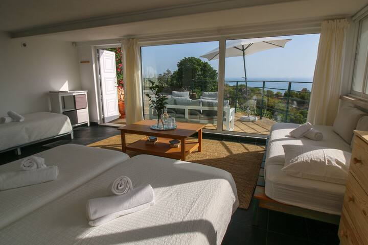 Apartment mit Blick aufs Meer