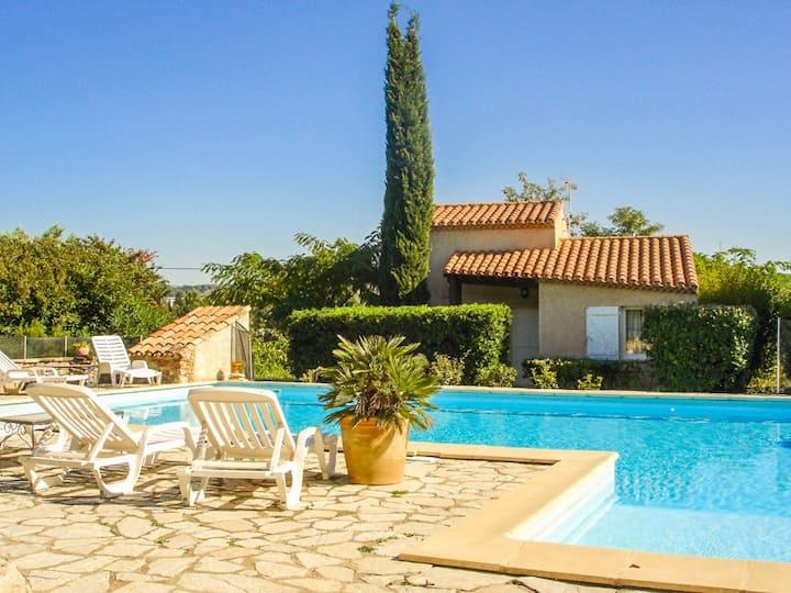 Belle villa 4* au calme grande piscine corbières