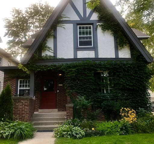 Charming luxe 2 bedroom Tudor home