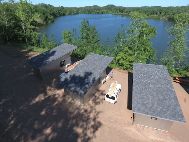 Cuyuna Cabin 3 - Waterfront & Trail Connected