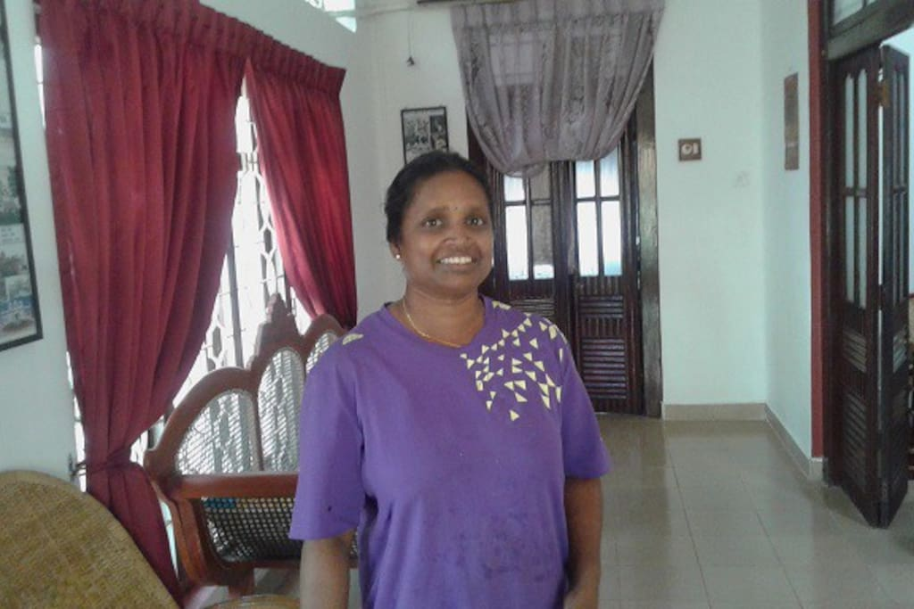 meet Kowsaliya the housekeeper