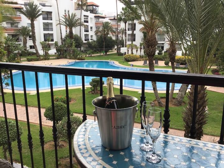 Te huur in Agadir Marina ons luxe-appartement