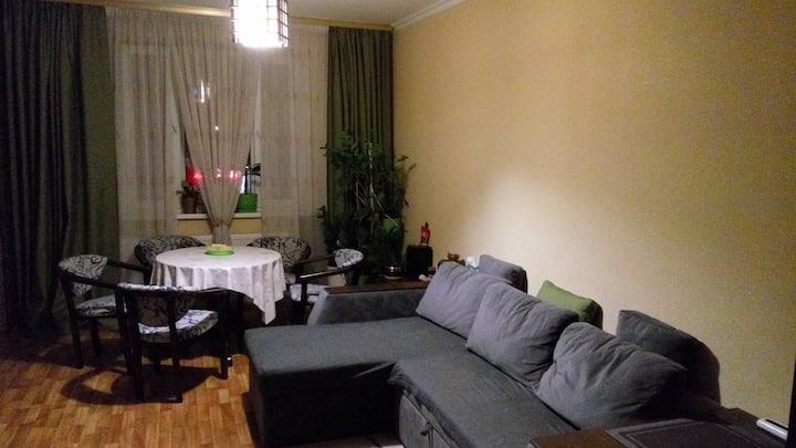 Room for a short stay in Kyiv