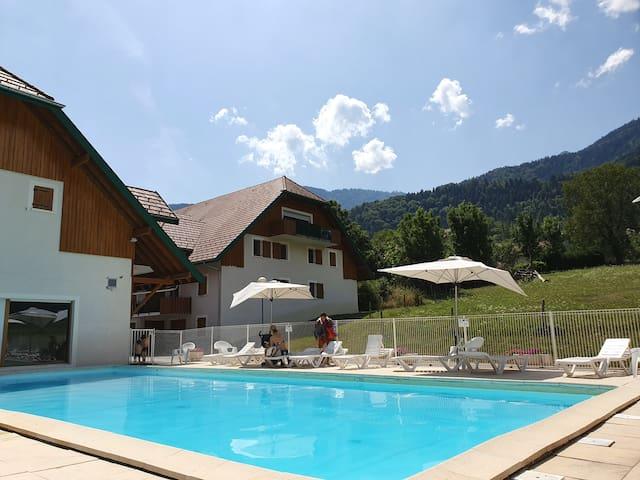 Studio avec piscines dans Résidence de tourisme***
