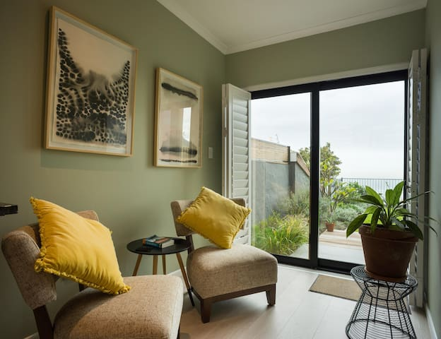 Self contained studio with a view