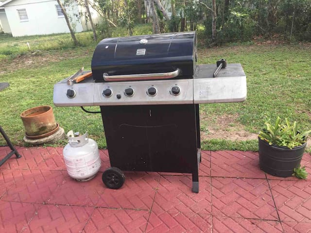 For those who like to grill... gas grill...\