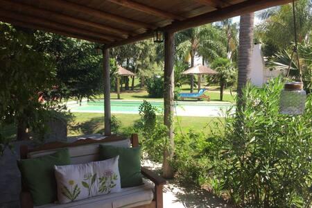 Maison de Charme avec piscine au bord du RioParana