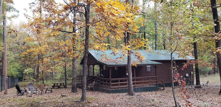Whispering Canes Cabin,  Broken Bow, OK- Hochatown