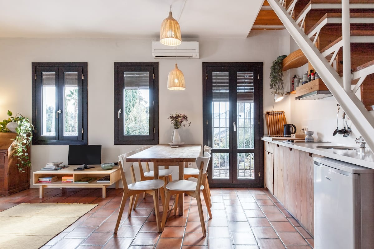 See a UNESCO World Heritage Site from a Hillside Apartment