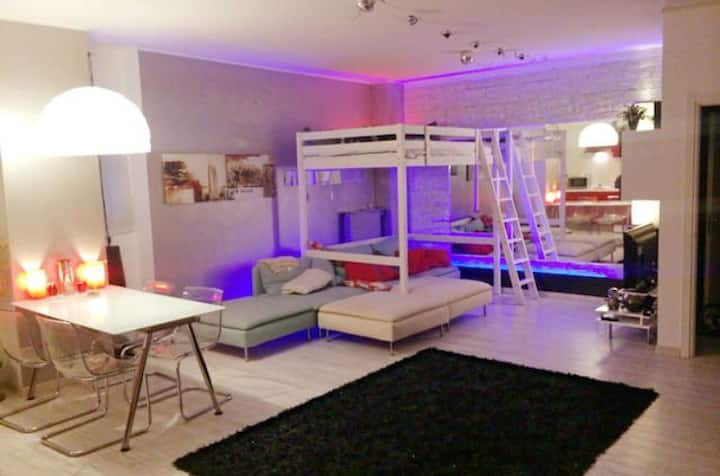 Beautiful modern Loft Studio, north Milan