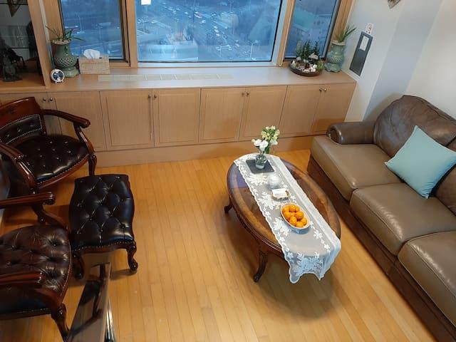 판교역,서현역/무료주차,상시소독,전용80m2 탄천뷰 펜트하우스