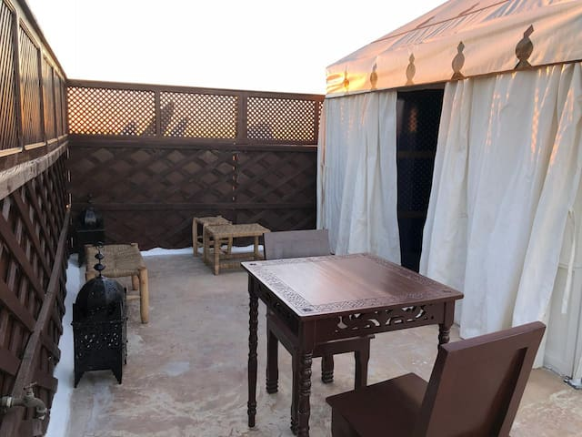 ⭐House with Berber Tent, Gueliz, Pool, Privacy