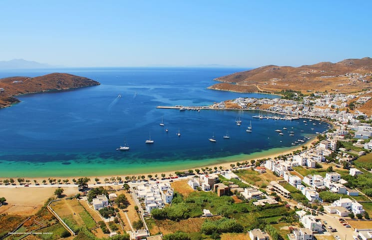 Beautiful Flat 200m from the beach @ Serifos - Serifos - Byt