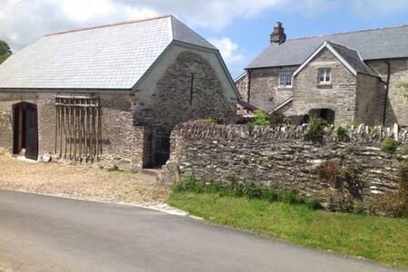 The Threshing Barn, Patchole , Exmoor North Devon