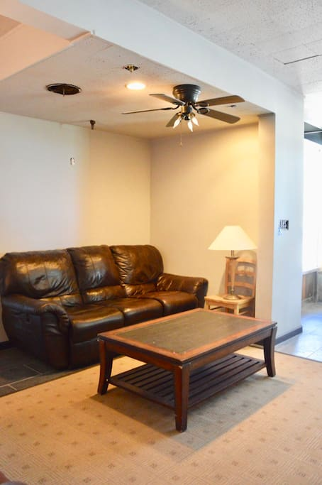 Comfy common area with sofa