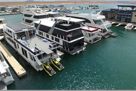 3 Story 75' houseboat- lake powell - Page