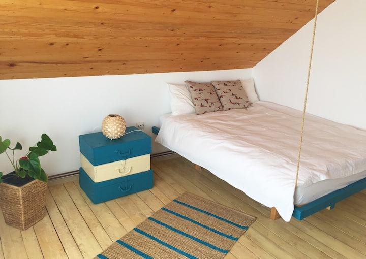 Traditional bedroom in Danube Delta