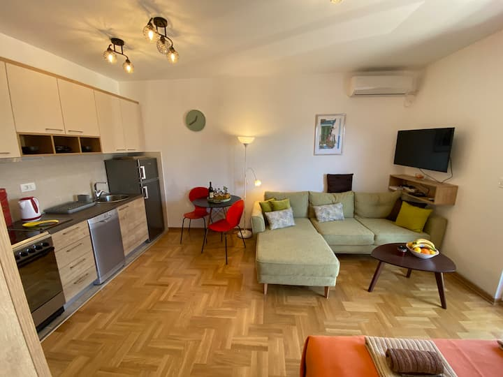 Cozy Spacious Studio Apartment in Budva