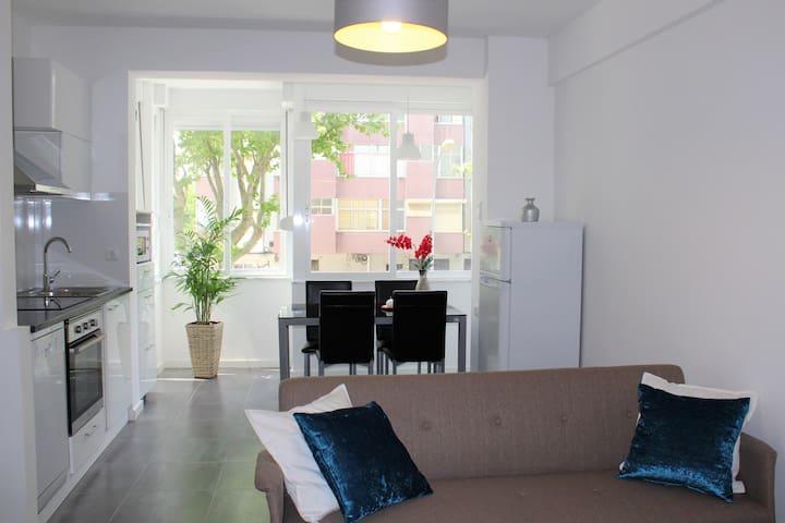 Beach Apartment Oeiras - Paço de Arcos - Byt