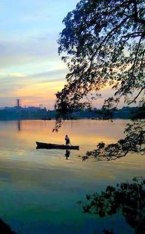 """Nisarga Nirvana"" Riverside Bunglow - Mangaluru - Ház"