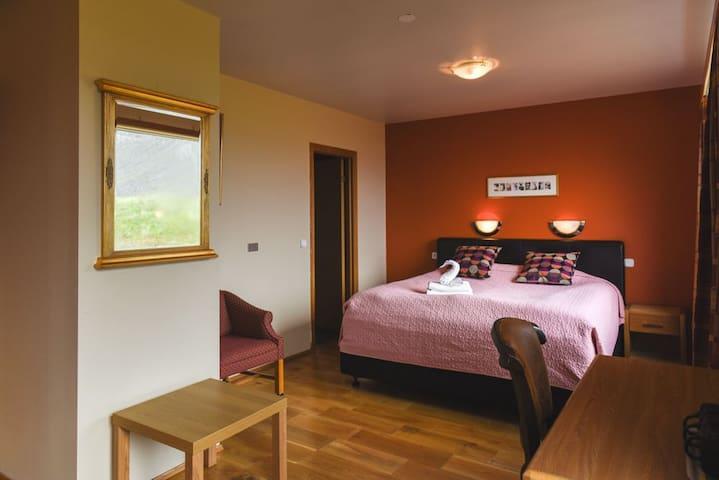 Superior Double Room - Magnificent Latrabjarg Cliffs