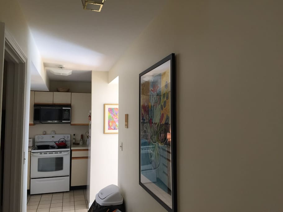 Cannot tell from photo but this kitchen is extremely well outfitted with dishwasher and tons of appliances. We love to cook!