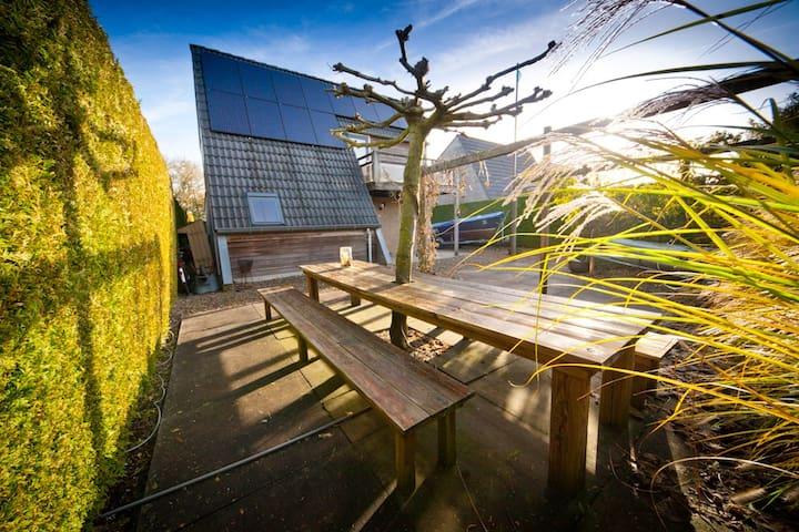 sfeervol luxe vakantiewoning op waterpark - Grou - Ev