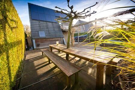 sfeervol luxe vakantiewoning op waterpark - Grou - Haus