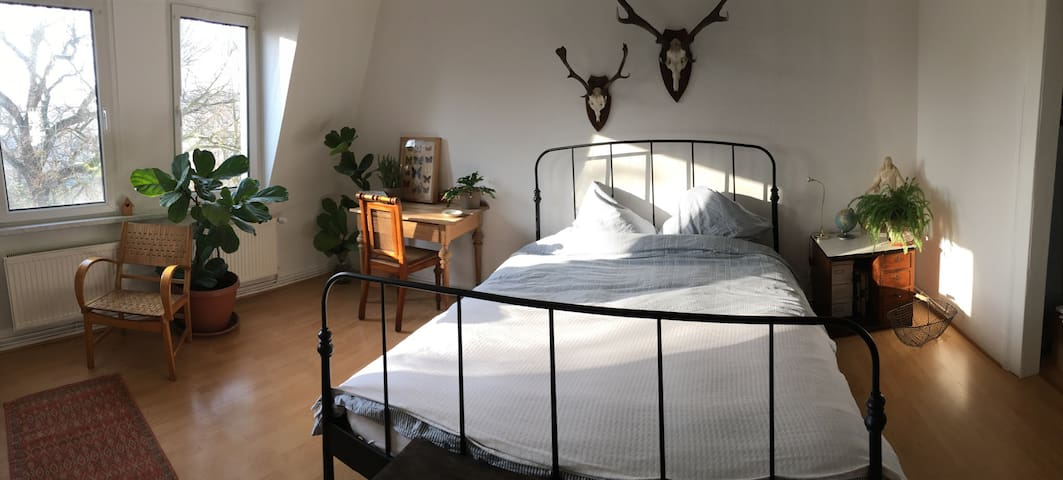 Komfortables Doppelzimmer am Rosental in Zoo-Nähe - Leipzig - Appartement