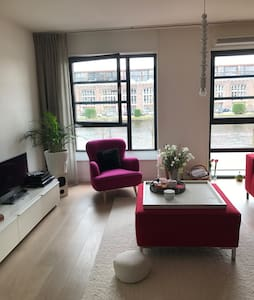 Beautiful apartment nearby centre of Haarlem - 哈勒姆 - 公寓