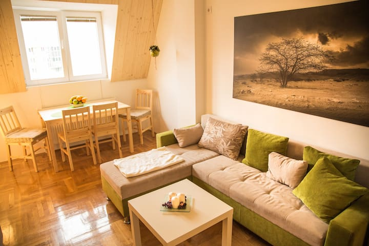 Brand New 1-Bedroom Apartment in the City Center - Skopje - Byt