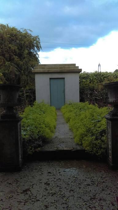Entrance to the garden.