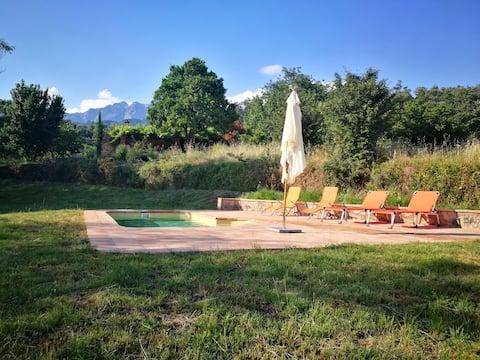 PRADO LOBERO Cottage with private pool & BBQ