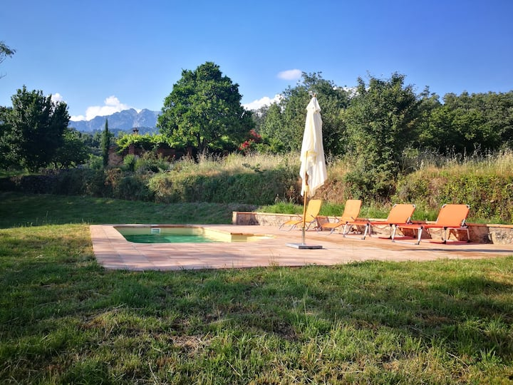 PRADO LOBERO Cottage with private pool & BBQ
