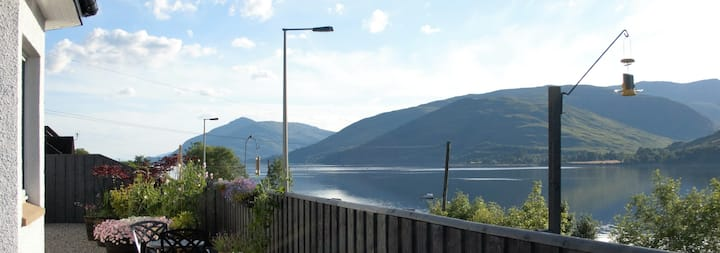 Morvich B&B Fort William overlooking Loch Linnhe