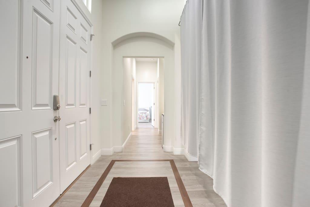 Entrance & Private Hallway