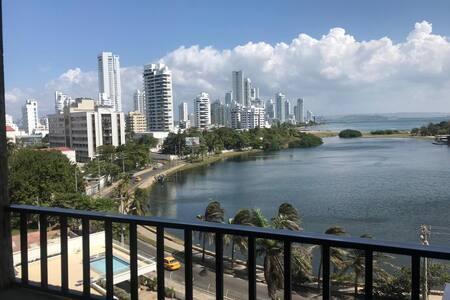 Apartamento completo con hermosa vista al mar