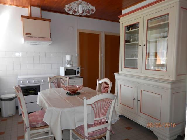 maison au coeur des Alpes - Valbonnais - Haus