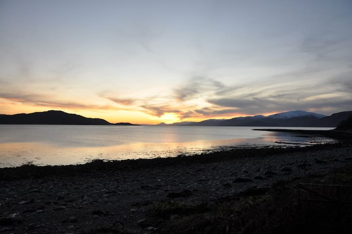 Sunset on Loch Linnhe
