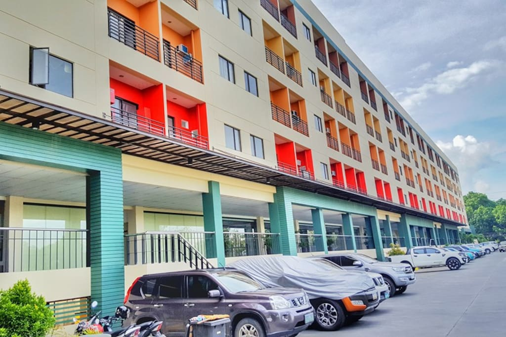 Ample free parking for residents