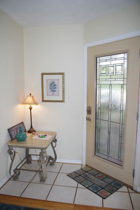 Town home entry