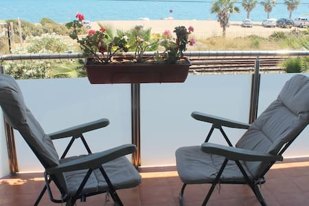 Beach and sea view, SEAFRONT Pool, big flat! - Pineda de Mar - Wohnung